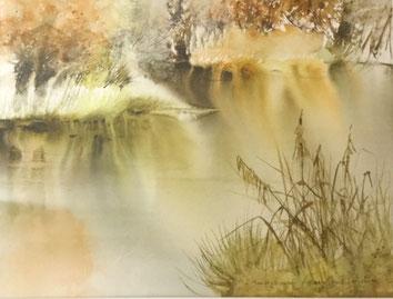 Chadebech : son étang