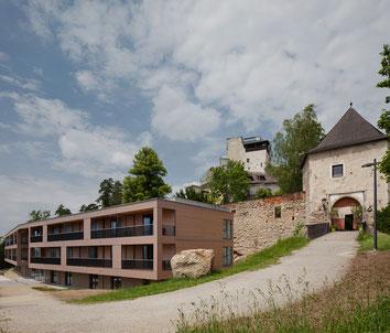 Burg mit Schatz.Kammer