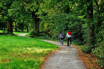 Fahrradtour auf dem Radweg