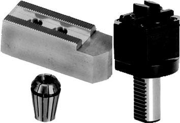 Zubehör und Stangengreifer für CNC - Drehmaschinen