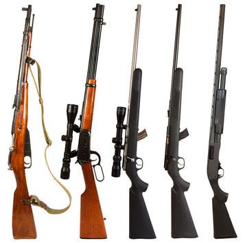 Langwaffen / Gewehre im Sportschießen beim SSV Rurtal Hückelhoven / Kreis Heinsberg