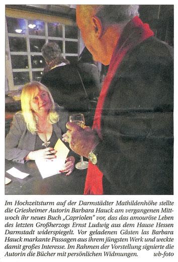 Griesheimer Anzeiger, W. Breckner, 29.11.2017