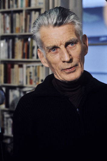 Roger Pic, Portrait de Samuel Beckett, 1977. Source : Wikipedia.org / Domaine public.