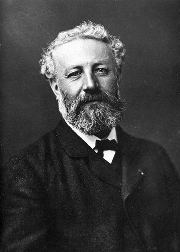 Félix Nadar, Jules Verne, vers 1878. Source : Wikipedia.org / Domaine public.