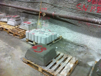 Concrete sample