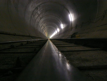 Tunnelbeton Innenverkleidung