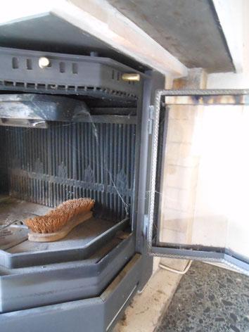Isolationen: Gewebe, Garne bei Cheminee-Ofen (vor 1990) sind asbestverdächtig
