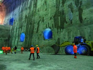Cavern construction: project Linthal 2015