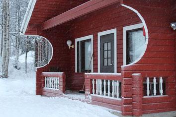 Sommerhaus - Gartenlaube - Freizeithaus - Holzhütte - Sommerhütte - Gästehaus mit Sauna - Wellnesshaus