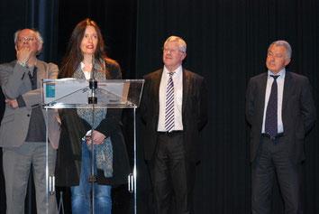 Christine Montalbetti, Prix Livre & Mer Henri-Queffélec 2015 © Livre & Mer 2015