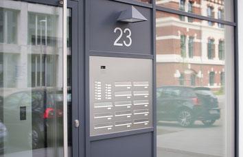 Türseitenteil Briefkastenanlage Knobloch
