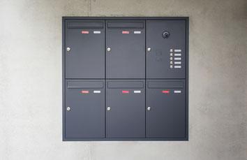 Unterputz Briefkastenanlage Knobloch