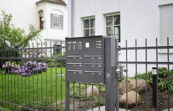 Zaun Briefkastenanlage Knobloch