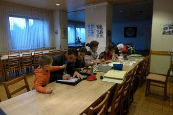 Unterricht im AWO-Haus