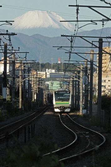 JR御殿場線から富士   全紙