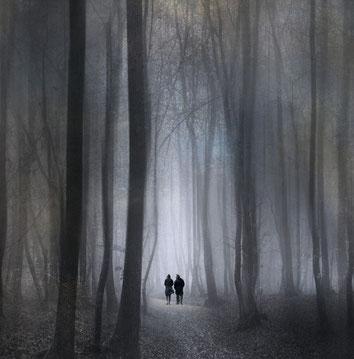 Pärchen im Wald