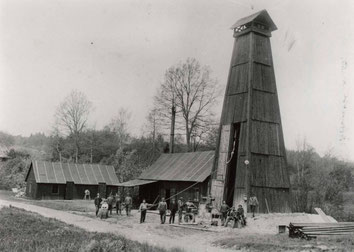Bohrturm von 1909