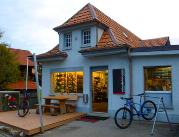 E-Bike Center Veloatelier mit E-Bikes FLYER und E-Mountainbikes FLYER und TREK