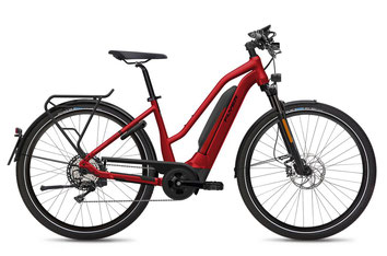 E-Bike FLYER Upstreet5 Mixed mercury red