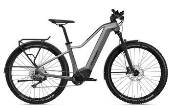 E-Mountainbike FLYER Goroc4 silber