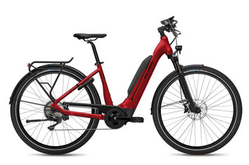 E-Bike FLYER Upstreet5 Tiefeinstieg mercury red