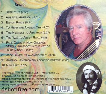 CD : Back cover