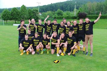 Aufstieg Kreisklasse 28. Mai 2016 in Geigant gegen den FC Katzbach