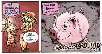Une histoire de cochon