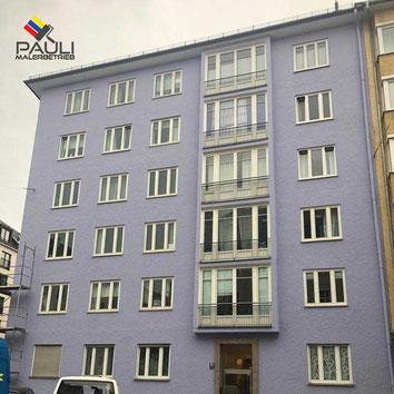Wir vom Pauli Malerbetrieb in München