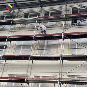 Eine rechtzeitige Fassadensanierung ist darum wichtig