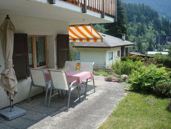 Gartensitzplatz Wohnung Erdgeschoss