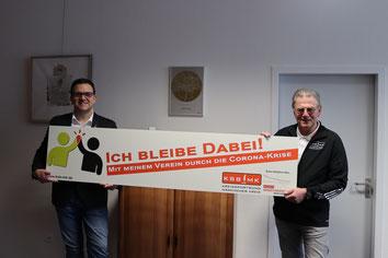 v.l. Michael Joithe (Bürgermeister Stadt Iserlohn), Günther Nülle (KSB MK)