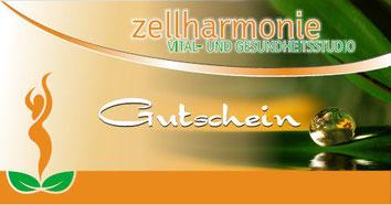 Gutschein Massage Zellharmonie Waldenburg