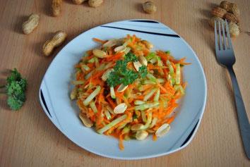 Karotten Gurken Salat