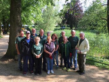 07.06.2017 Pflegeeinsatz Grünanlage am Buckower Dorfteich