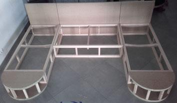 Création Fabrication de canapé sur mesure by Emmanuelle Bourgeois Tapissier Décorateur à Gigean près de Montpellier et Sète dans l'Herault (34) Occitanie Sud de France