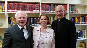 Pfarrer Karol, Susanne Karri, Dompfarrer Toni Faber