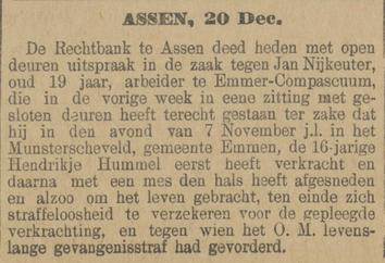 Provinciale Drentsche en Asser courant 21-12-1897