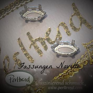 www.perltrend.com Luzern Schweiz Onlineshop Schmuck Jewellery Jewelry Design Style Schmuckdesign Fassung Navette Swarovski Crystals