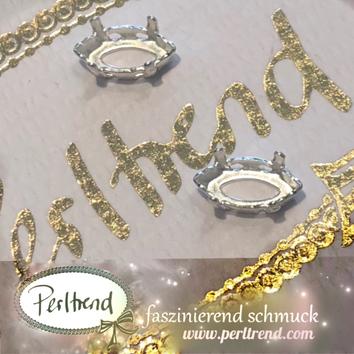 www.perltrend.com Luzern Schweiz Onlineshop Schmuck Jewellery Jewelry Design Style Schmuckdesign Fassung Navette Swarovski Crystals versilbert