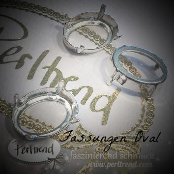 www.perltrend.com Luzern Schweiz Onlineshop Schmuck Jewellery Jewelry Design Style Schmuckdesign Fassung oval Swarovski Crystals versilbert silberfarben antik gold goldfarben