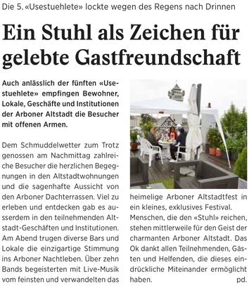 Wochenzeitung felix,  07.09.2018