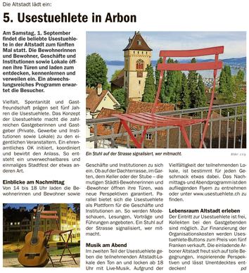 Oberthurgauer Nachrichten, 23.08.2018