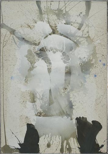 Erlkönig - Acryl auf Leinwand, 1999 (100x70)