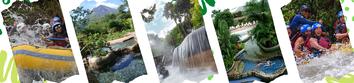 Rafting Clase 2 & 3 + Termales Baldi, Tabacon, Paradise, Ecotermales