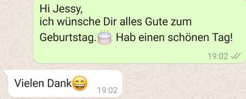 Meine Ex hat Geburtstag