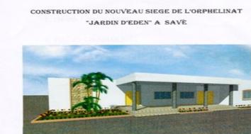Gewenste situatie weeshuis Jardin D'Eden