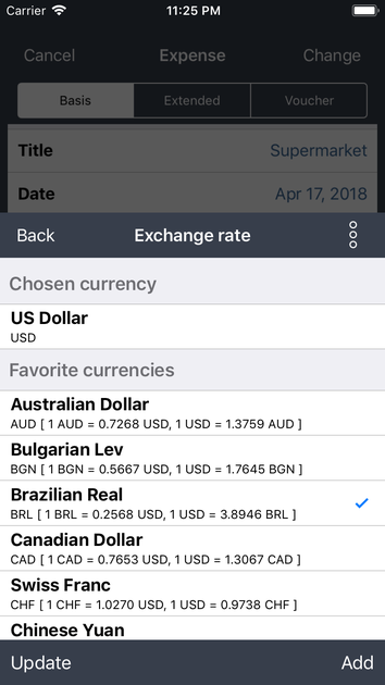 EXTENSION: Currency converter - OneTwoApps