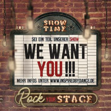 Komm in unser Showteam (klick)