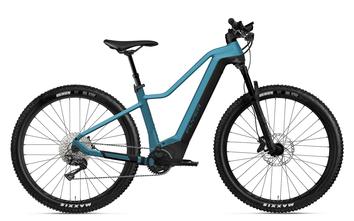 E-Mountainbike FLYER Uproc X black shading satin